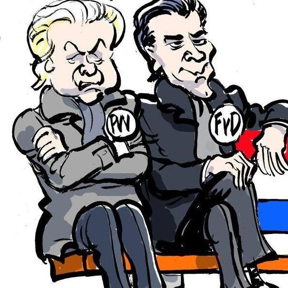 Wilders & Baudet PVV - FvD